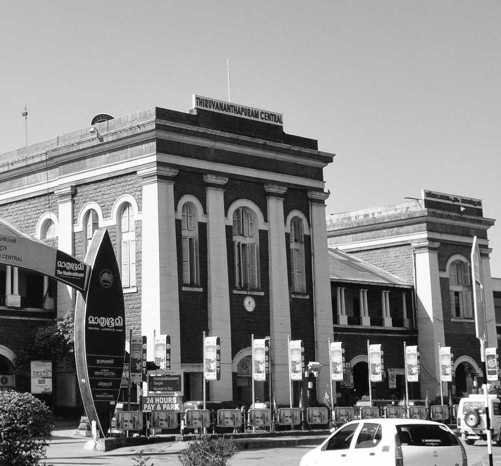 Central Railway Station Conservation & Restoration Thiruvananthapuram