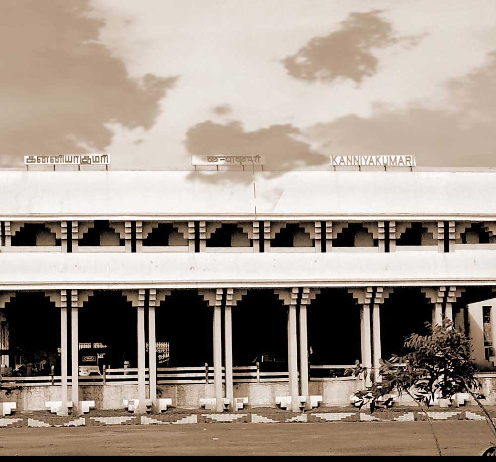 Kanyakumari Railway station Tamilnadu