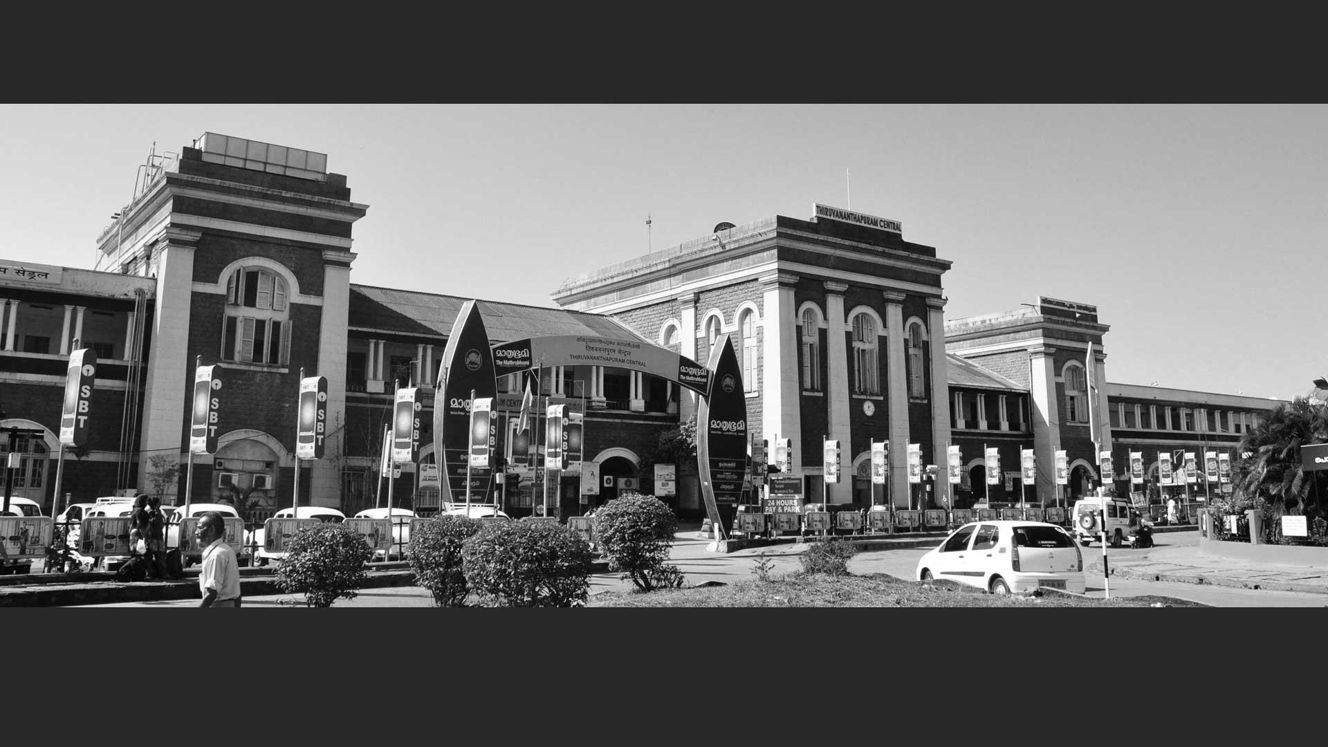 Railway station Trivandrum